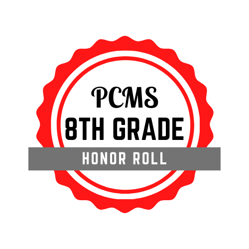 PCMS 8th Grade Honor Roll
