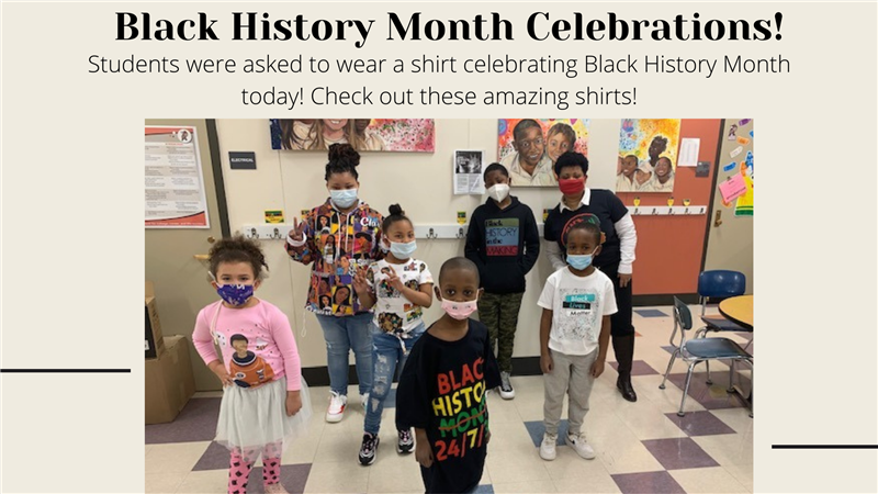 Black History Month Shirts
