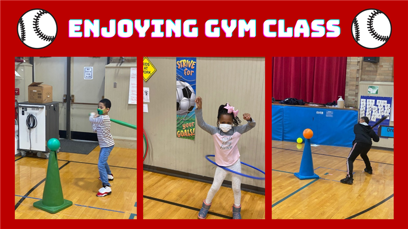 Enjoying Gym Class