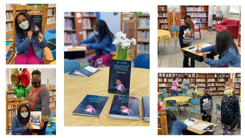 Glendale Student Author book signing