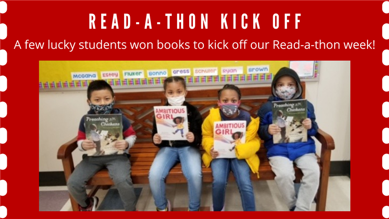 Read-a-thon Kick Off