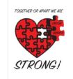 Together or apart logo LH Strong