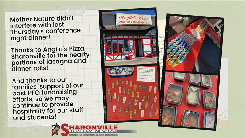 Thank you photos and post to Angilo's Pizza