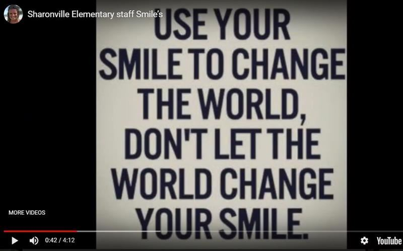 Sharonville Elementary Staff Smiles