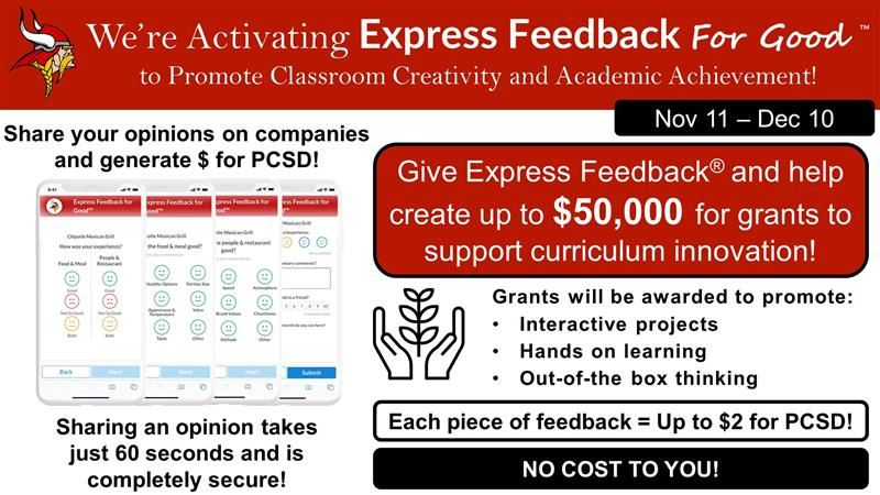 Express Feedback sign up graphic