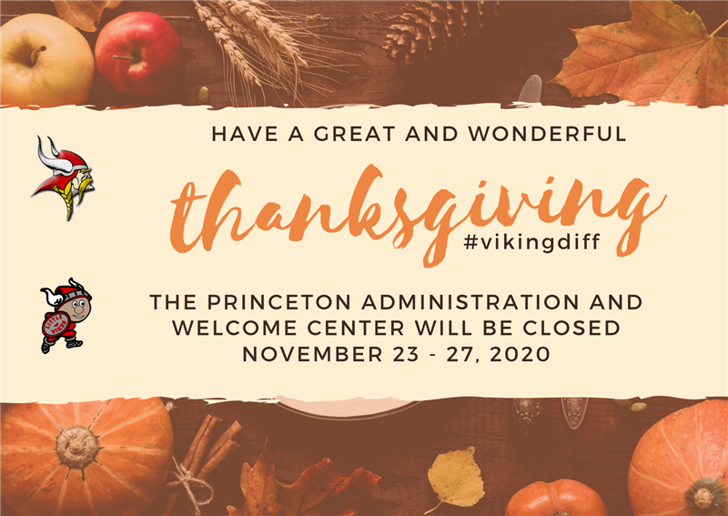 Welcome Center Closed Nov 23-27
