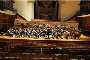 photo of orchestra