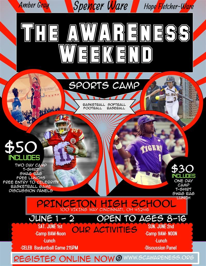 The aWAREness Weekend Sports Camp