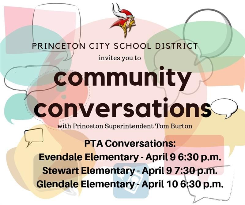 Community Conversations with Superintendent Tom Burton