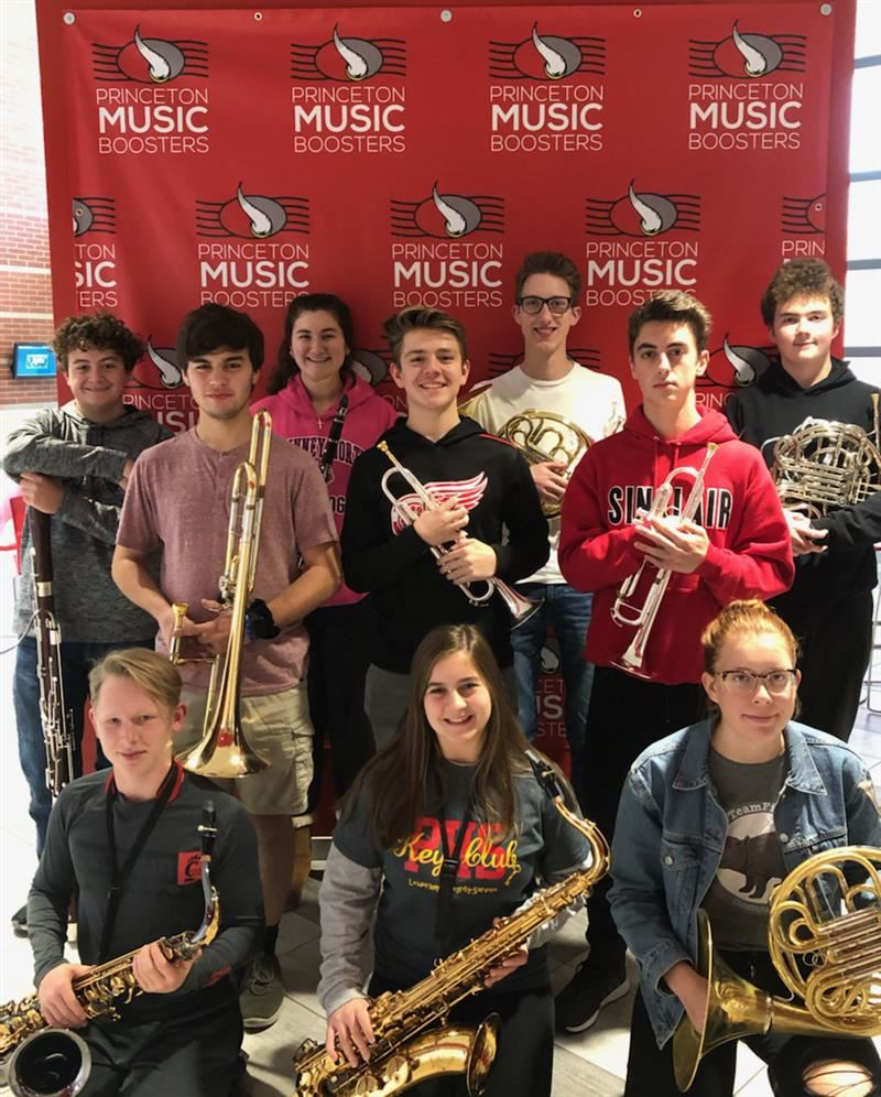 Congratulations to the PHS musicians for selection into the OMEA District 14 Honor Band Festival