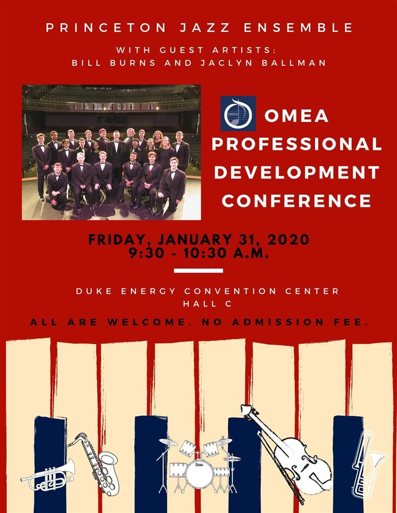Princeton Jazz to perform at OMEA Professional Conference