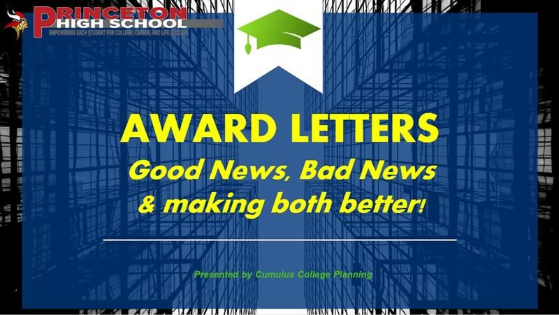 Award Letters youtube video