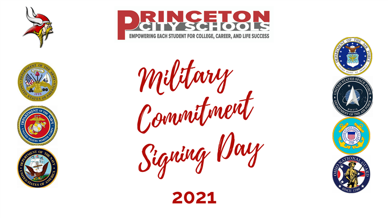 Military Commitment Signing Day 2021