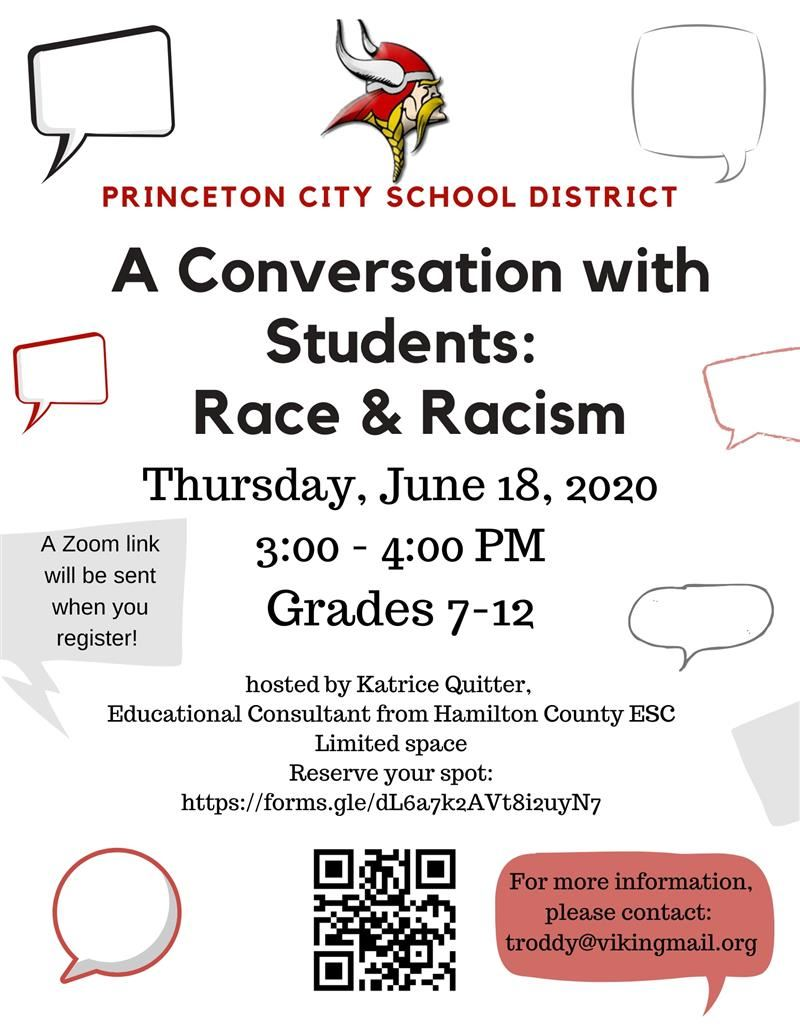 A Conversation with Students: Race & Racism