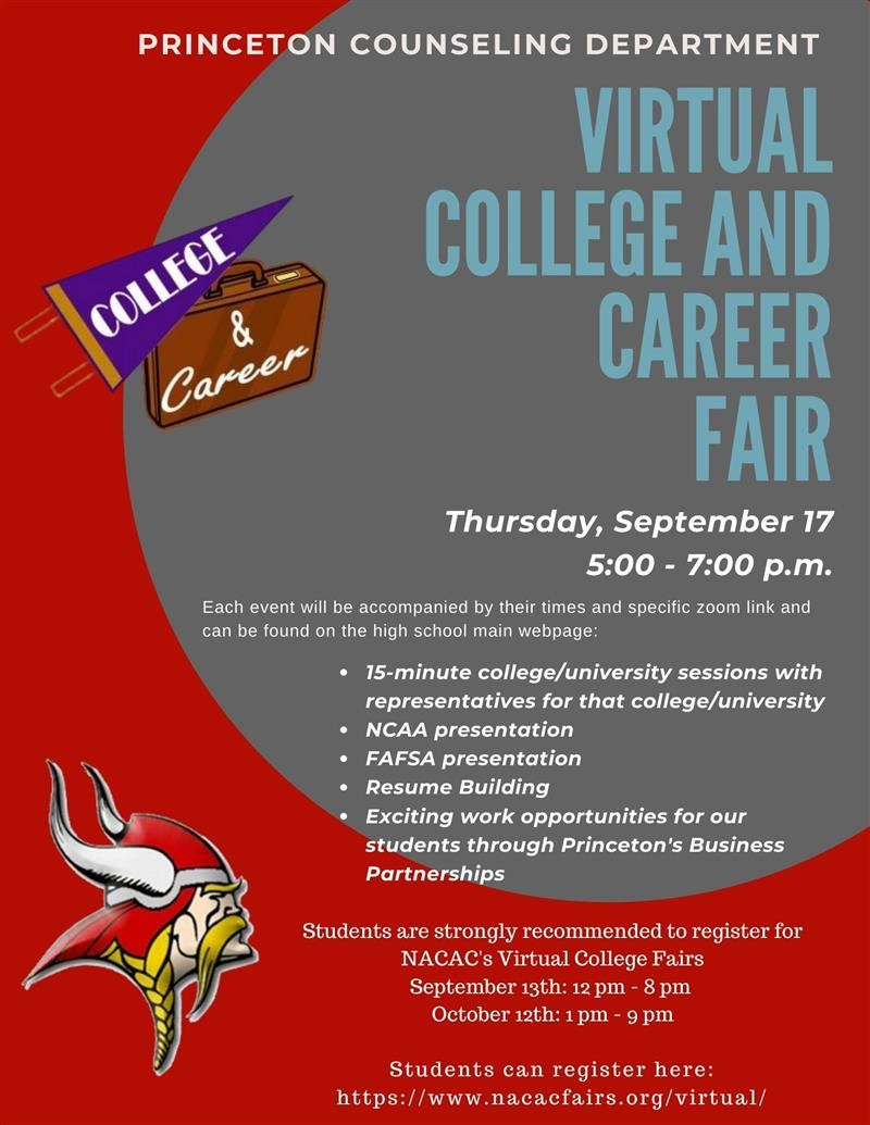 Virtual College and Career Fair