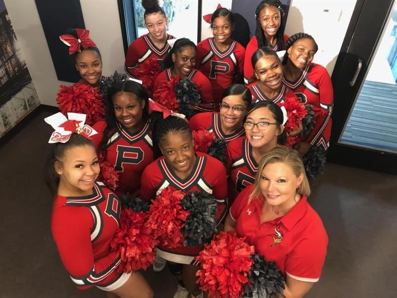 Princeton Cheerleaders on Warm 98.5