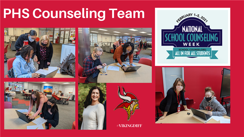 Thank you to our PHS Counseling Team