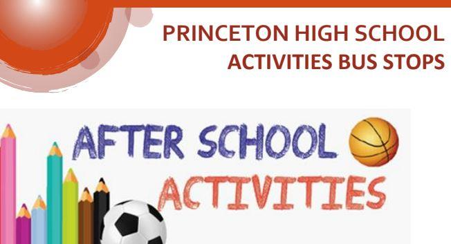 phs activities bus stop graphic