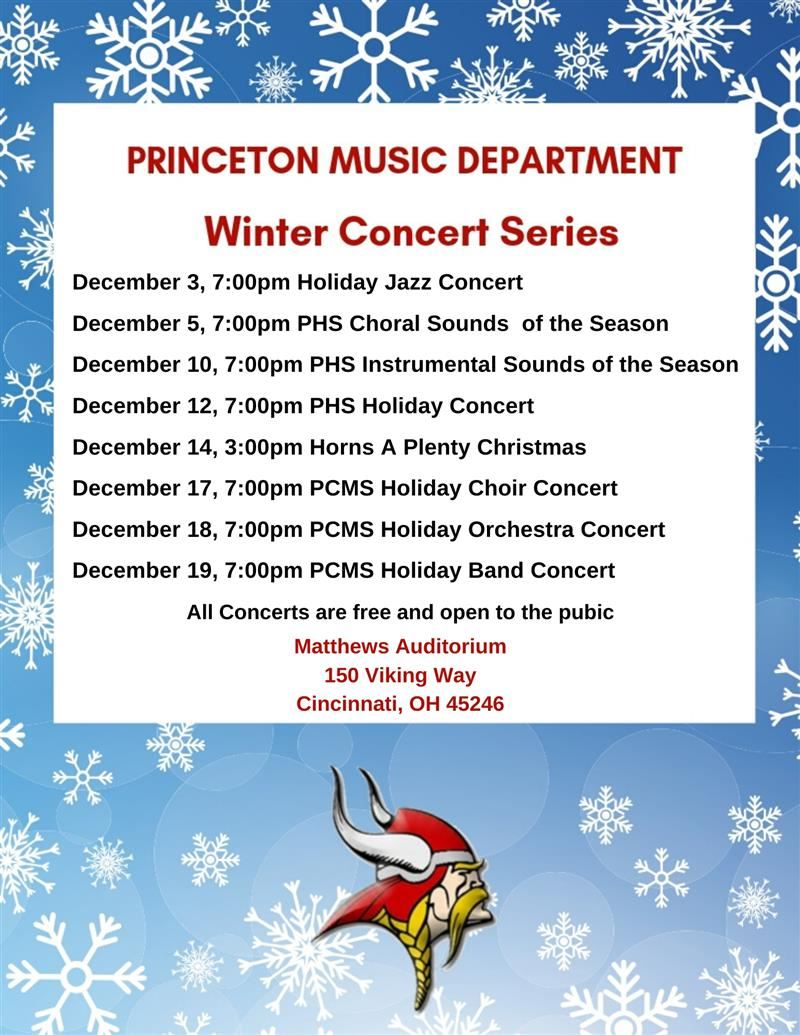 Graphic for Winter Concert Series