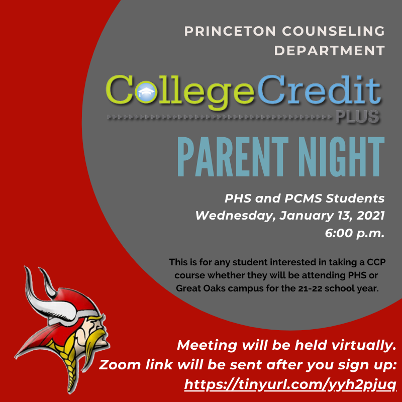 College Credit Plus Information Meeting