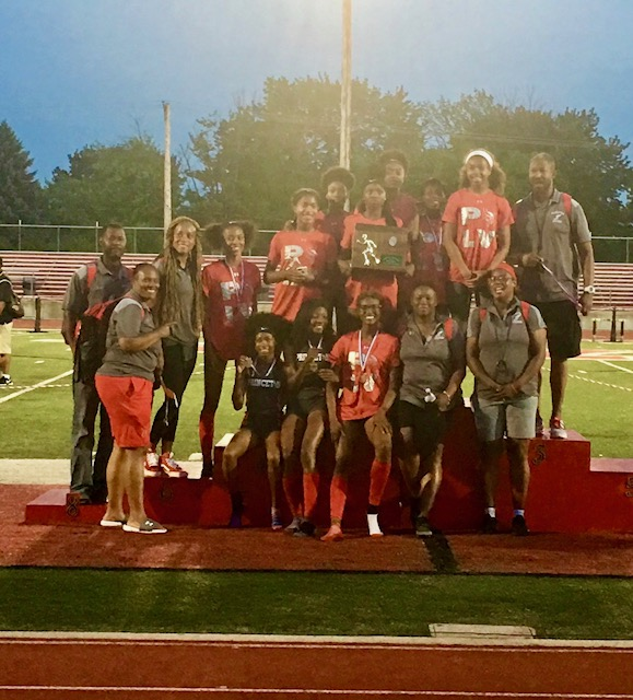 PHS Track Team Headed to State