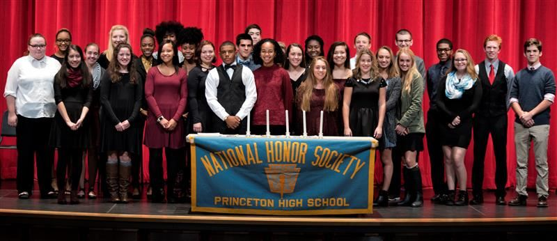 Princeton High School Chapter of the National Honor Society (NHS) Induction Ceremony