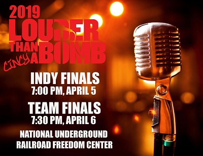 Two Princeton Poetry students make it to Indy Finals at the Freedom Center!