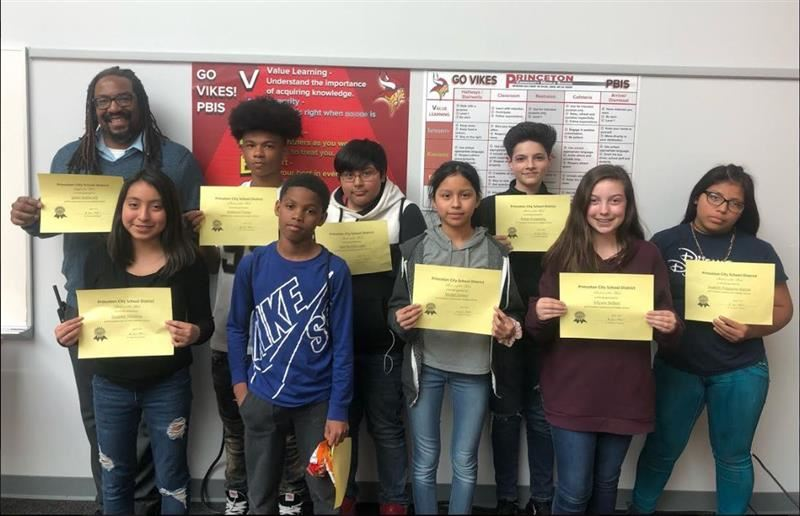 PCMS Students and Staff of the Week