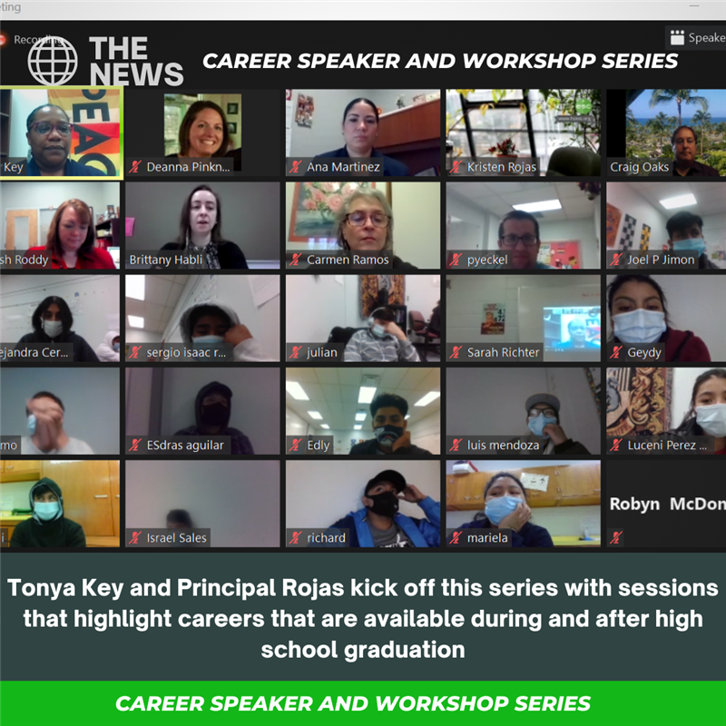Career Speaker and Workshop Series