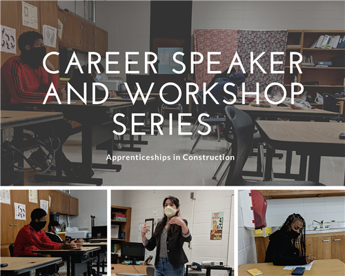 Tonya Key and Principal Rojas continue the Career Speaker and Workshop Series this week with special guests Nena Styles and Lydia Burns